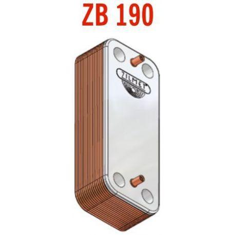 Теплообменник пластинчатый Zilmet ZB 190 (INOX AISI 316L) 12 пластин (17B1901218)