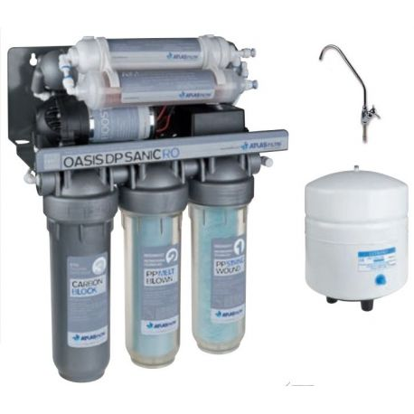 Система обратного осмоса Atlas Filtri OASIS DP SANIC PUMP с насосом и минерализатором (SE6075322)