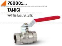 """Кран шаровой Bonomi TAMIGI 3/4"""" ВВ стальная ручка (76000106R)"""