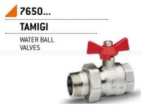 "Кран-американка шаровой Bonomi TAMIGI 1/2"" red (76500004R)"