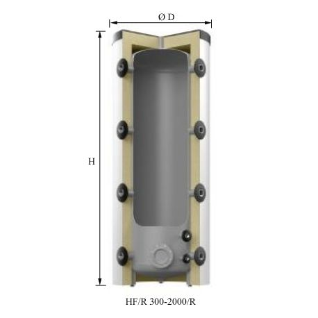 Reflex Storatherm Heat HF 2000/R класс С (7842500)