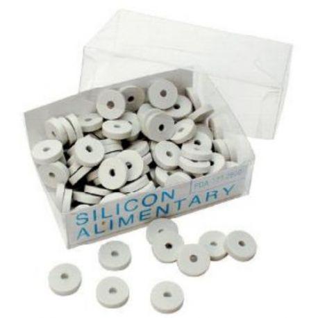 """Прокладка силиконовая для смесителя (кран-букси) Go-Plast 1/2"""" (2001SIL002)"""