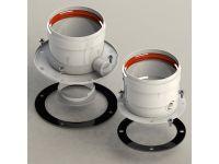 Комплект распределительного ПО/ГВ для традиционных котлов d80/80 с отверстием для тестирования GROPPALLI S.R.L. (A311521)