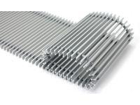 Решітка до конвектора алюміній (колір срібло) GR ALS